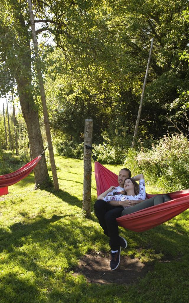Northern France _ Amiens _ Les Hortillonnages _ Garden © CRTC Hauts-de-France - Teddy Henin